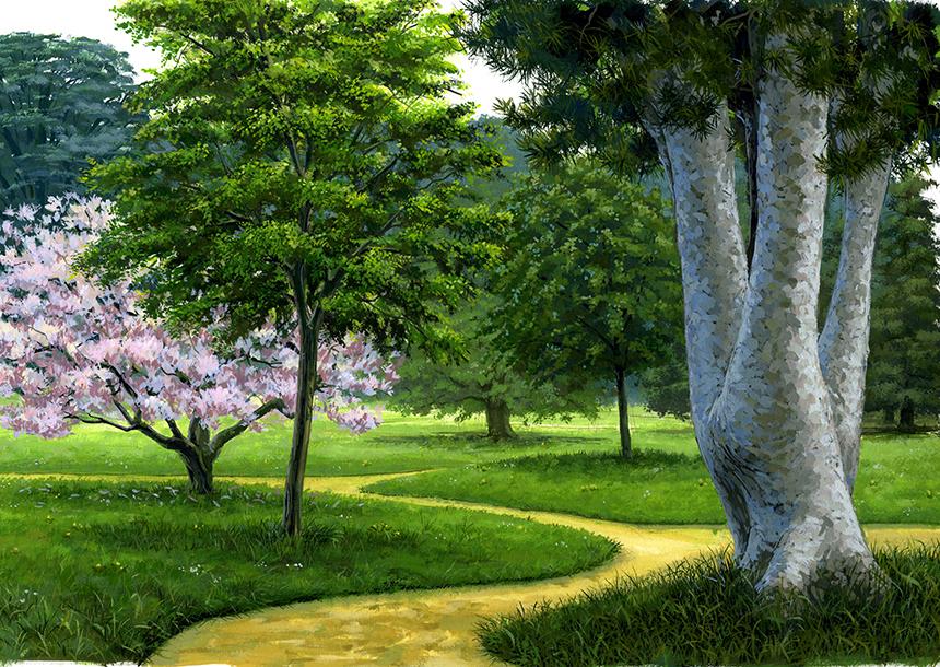 Illustration arboretum