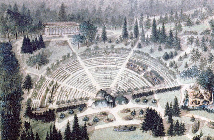 Historique des jardins ext rieurs jardin botanique de lyon for Boulevard du jardin botanique 20
