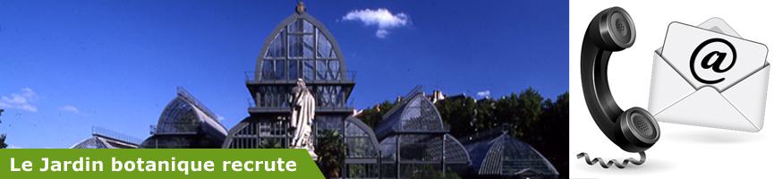 Stages jardin botanique de lyon for Boulevard du jardin botanique 20