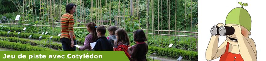 Jeu de piste au Jardin botanique de Lyon