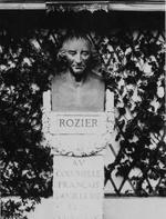 Buste de l'abbé Rozier