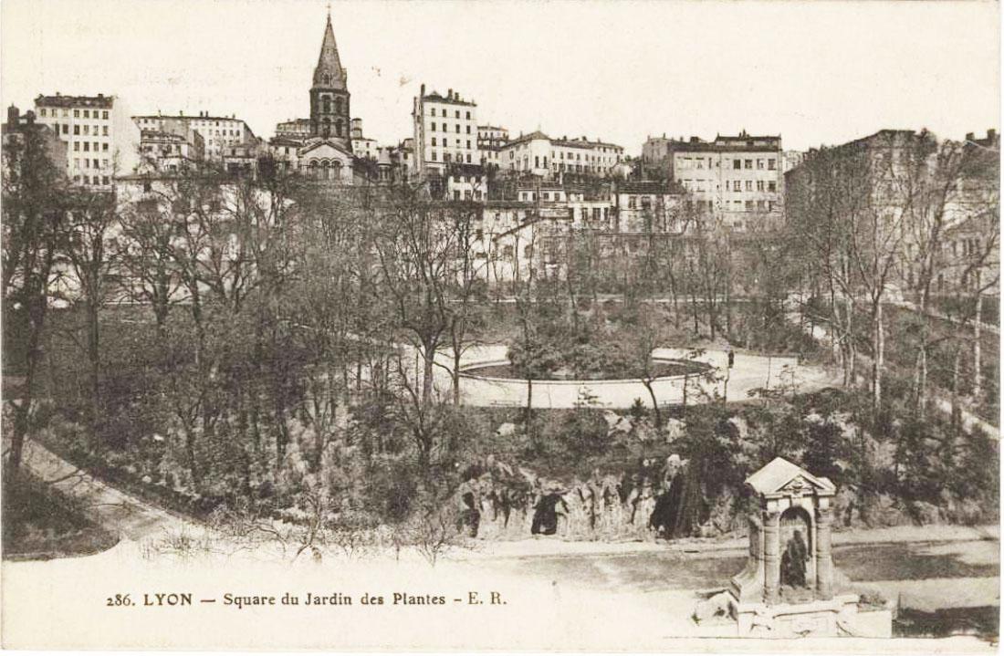 Historique jardin botanique de lyon - Gare de lyon jardin des plantes ...